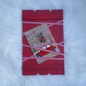 Christmas Card Display Decor